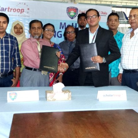 RUD signed MoU with Scholartroop