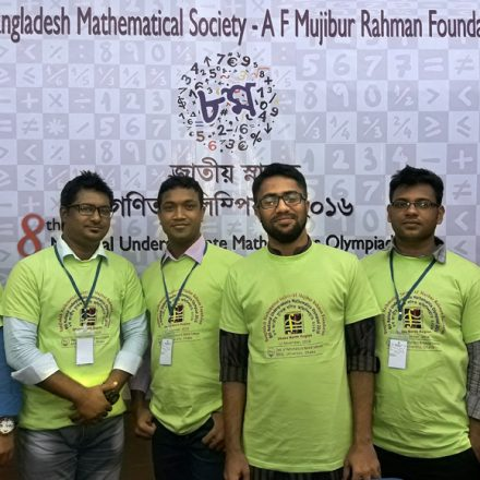 RUD Students Participated at the Mathematics Olympiad 2016