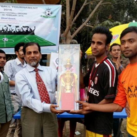 Inter department Football Tournament 2016
