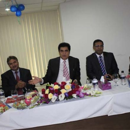 A Warm Welcome Ceremony To VC And Registrar