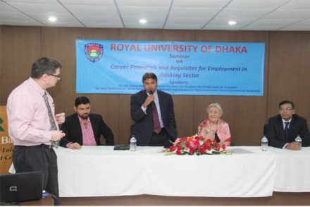 INTERNATIONAL BUSINESS ACADEMY DELEGATION VISITS ROYAL UNIVERSITY OF DHAKA