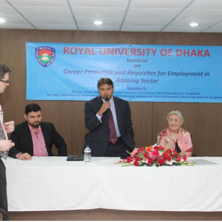 INTERNATIONAL BUSINESS ACADEMY DELEGATION VISITS ROYAL UNIVERSITY OF DHAKA
