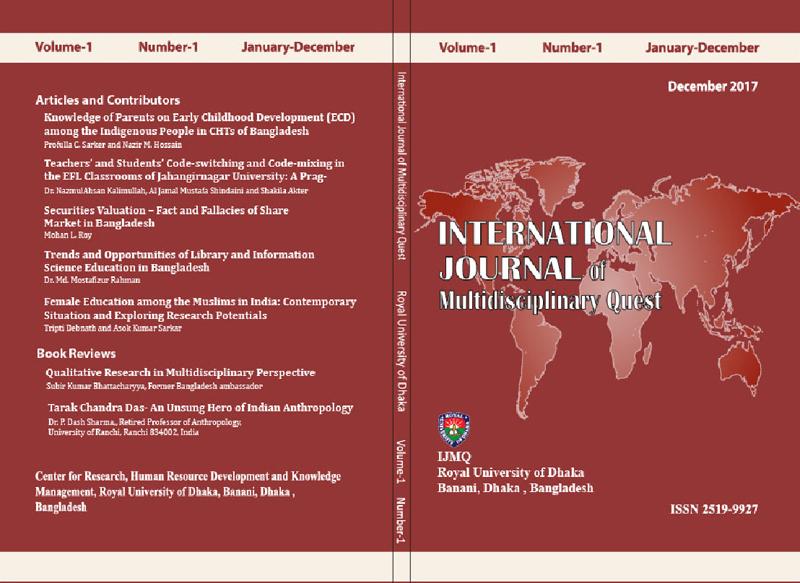 RUD Publications & Journals | Royal University of Dhaka